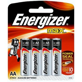 Батарейки Energizer MAX E91/AA 1,5V - 4 шт.