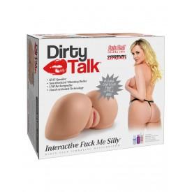 Вагина-полуторс Dirty Talk Interactive Fuck Me Silly
